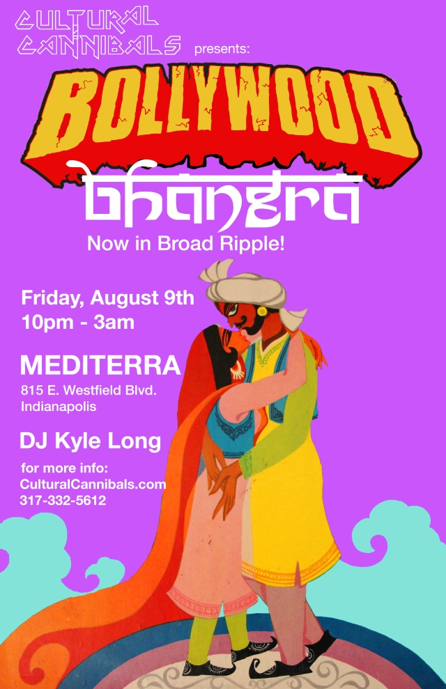 Bollywood Bhangra @ Mediterra in Broad Ripple - August 9th