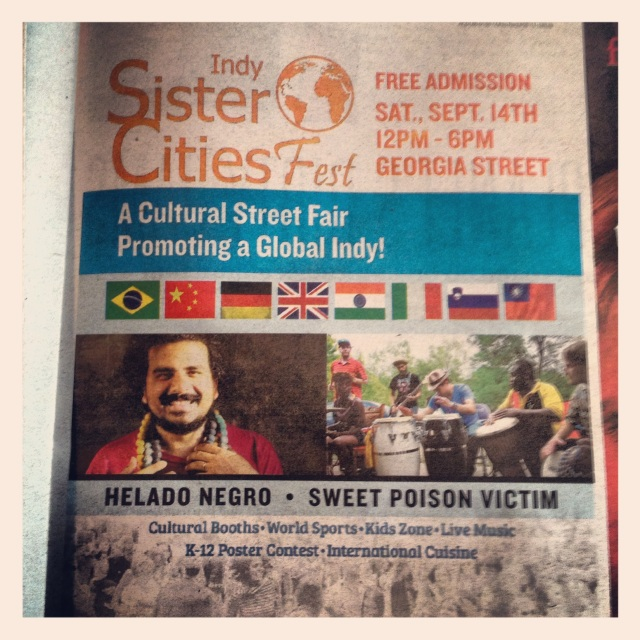 sister cities poster