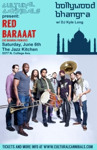 Red Baraat poster